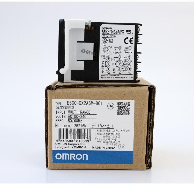 OMRON original authentic 100% new E5CC-QX2ASM-801 electronic temperature controller digital display temperature controller все цены