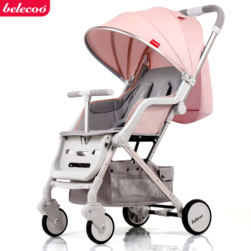 Babysafe Baby Stroller Super Portable Folding Umbrella Carts Can Sit and Lying Baby Stroller