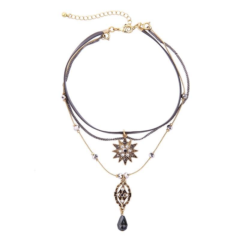 Edinstvena oblikovalna znamka nakit kabrioletne imitacije usnjene - Modni nakit - Fotografija 4