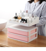 New Plastic Cosmetic Drawer Makeup Organizer Makeup Storage Box Container  Skin care products Desktop Storage box