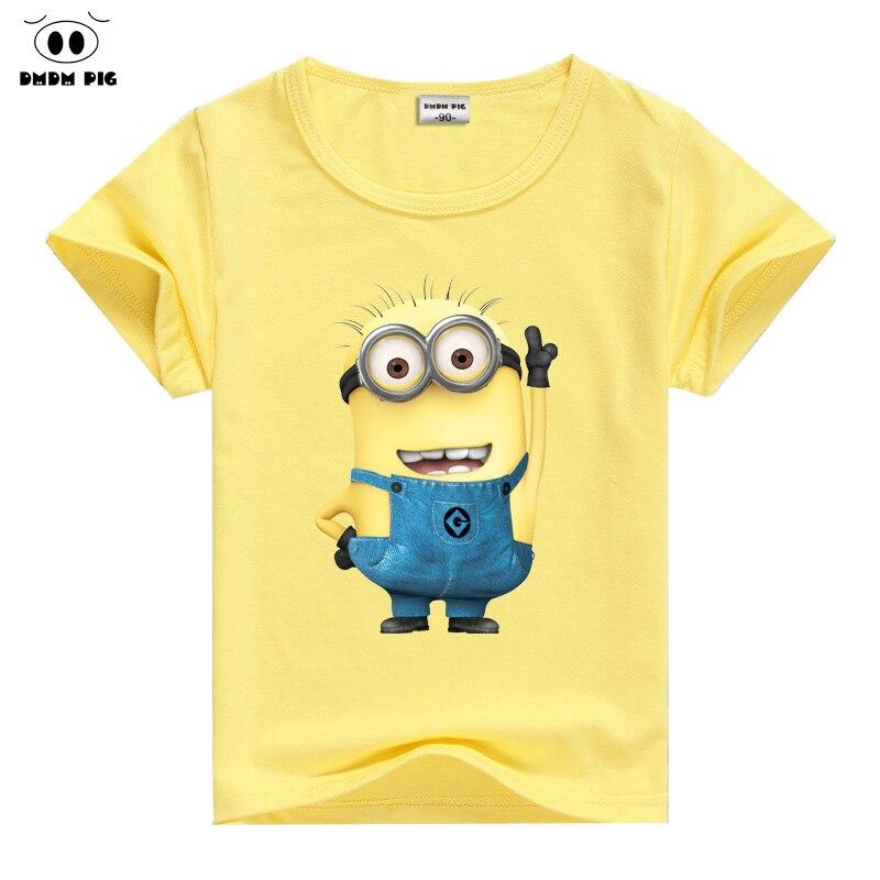 dmdm pig children's clothing t shirt kids t-shirt baby boy girl clothes costumes t-shirts for boys girls tops clothes t shirt