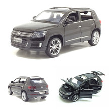 Hot Sale 1/32 Tiguan Diecast Metal SUV Alloy Car Model For Kids Christmas Gifts Toys Collection Free Shipping(China)