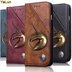 На Алиэкспресс купить чехол для смартфона yelun for ulefone note 7 case luxury leather retro stand wallet flip cover case for ulefone note7 magnetic filp fundas