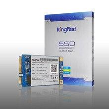 Kingfast F6M high quality internal SATA II/III Msata ssd 60GB 128GB MLC Nand flash Solid State hard hd disk Drive for Laptop