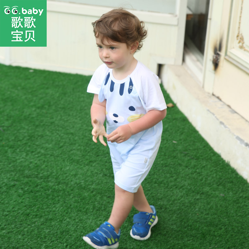 Summer Newborn Baby Boy Romper Clothes Animal Infant Baby Boys Jumpsuit Clothing Short Sleeve Toddler Baby Girls Romper Pajamas hhtu 2017 infant romper baby boys girls jumpsuit newborn clothing hooded toddler baby clothes cute elk romper baby costumes