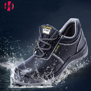 6a107857c39 Safety Men s Steel Toe Boots Cow Working shoes