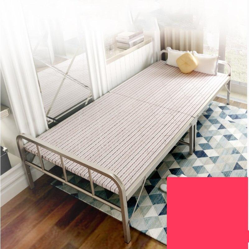 Lits simples résistants de cadre en métal de lit/lit pliant facile pour la maison d'adultes/lit d'invité d'intérieur avec des meubles d'économie de pièce de barres de garde