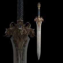 Вау король штормветра ллейн Wrynn I меч Лев длина = 120 см полностью металлический корпус