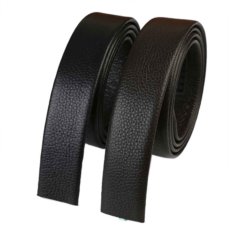 No Buckle Belt Body Strap Without Buckle Belts Automatic Buckle Belt For Men Good Quality Male Belts
