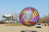 Новый Спорт на открытом воздухе 4 м мощность Радужный змей/Кольцо/очень приятно для кайт фестиваль Прямая продажа с фабрики