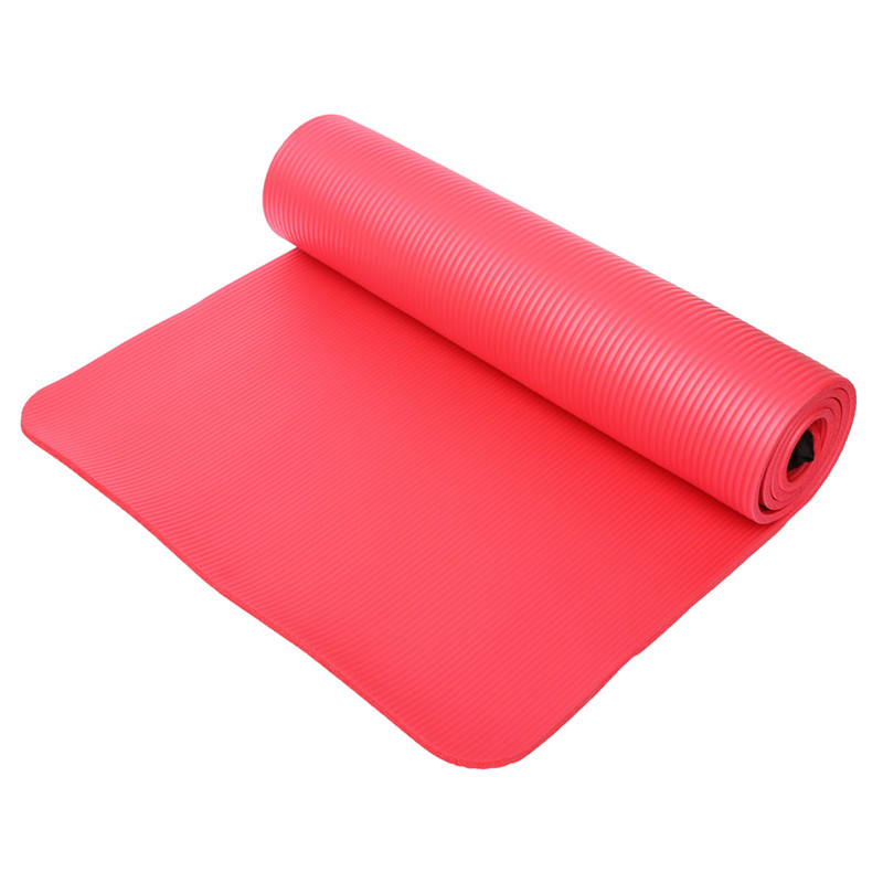Fitness 10mm Thickess Non-Slip Yoga Mat Sport Pad Gym Soft Pilates Mats Foldable Pads for Body Building Training Exercises soumit 5 colors professional yoga socks insoles ballet non slip five finger toe sport pilates massaging socks insole for women