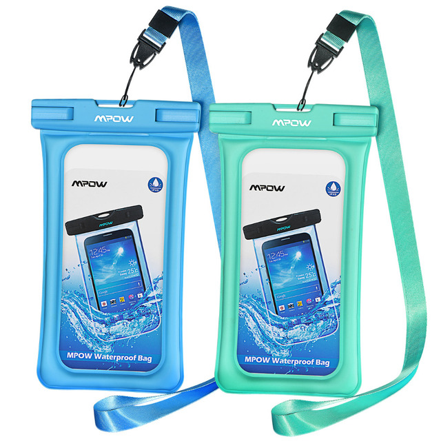 Mpow IPX8 Waterproof Bag Case Universal 6.5 inch Mobile Phone Bag Swim Case Take Photo Under water For iPhone Xs Samsung Huawei 6