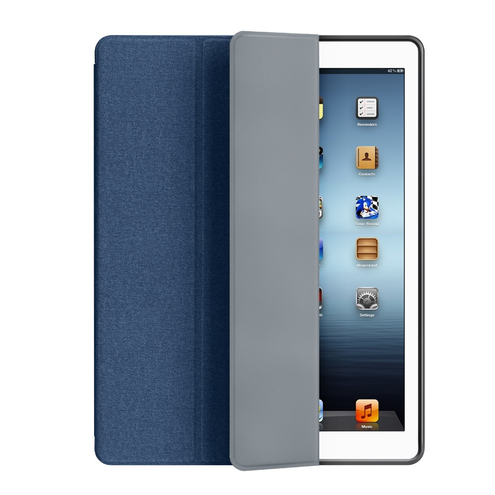 Case For Ipad Pro 12.9 Drop Resistance TPU+PU W Pencil Holder Smart Auto Sleep Wake Cover For Ipad Pro 12.9 Inch Case