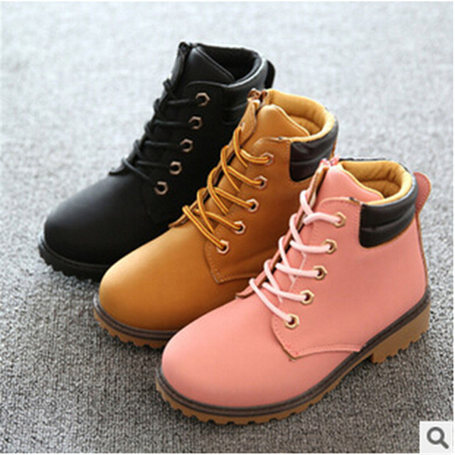 679fca2107455 US $15.99 |2016 autumn new candy colored casual boots wild child student  hiking boots Martin boots-in Boots from Mother & Kids on Aliexpress.com |  ...