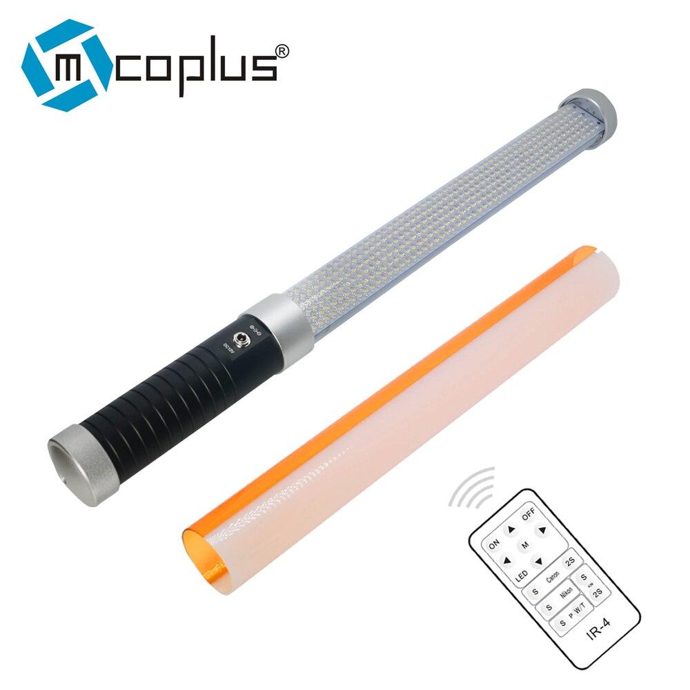Mcoplus 55 cm Portable Portable 298 pièces LED 1600LM perles Tube magique lumière MTL-900 II comme lumière de glace pour la photographie et la vidéographie