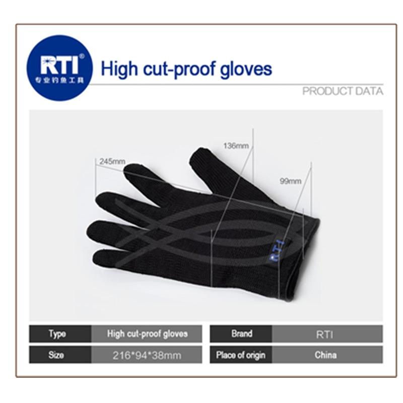 RTI պաշտպանիչ ձեռնոցներ Չժանգոտվող - Ձկնորսություն - Լուսանկար 5
