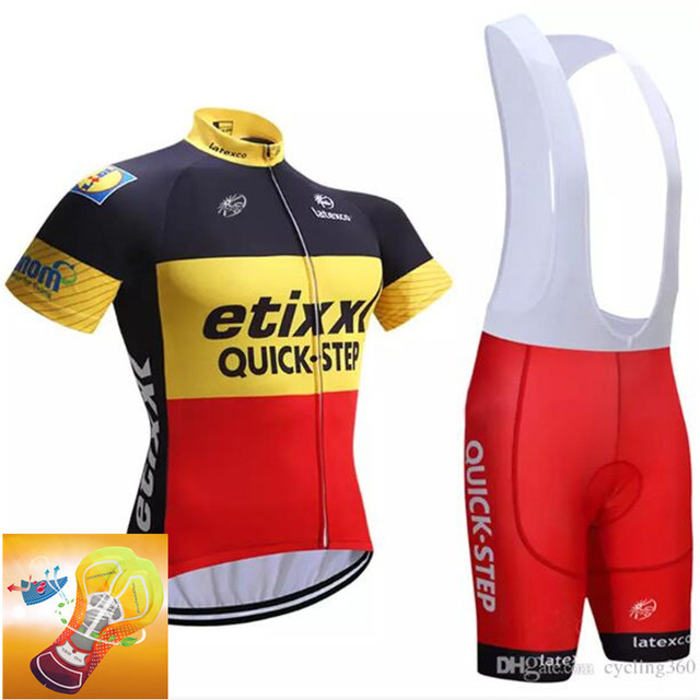 60b69dd71 Best Offers 2018 TEAM FDJ Summer Cycling Jersey Sets Gel Padded Bike Shorts  Breathable Cycling Clothing