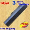7800 mAh 9 células batería del ordenador portátil para ACER Aspire One ZG5 KAV10 KAV60 D250 D250 Aspire One A150 9 celular