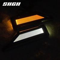 SNCN LED Blade Shape Lamp Steering Fender Side Bulb Turn Signal Light Reversing For Honda Accord City Civic CR V CRX Element