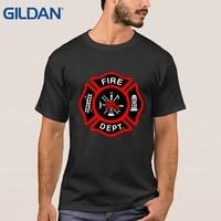 Chicago Fire Department Fire Fighter City T Shirt Cheap Tatoo Tee Shirts Cotton Men S Shirts