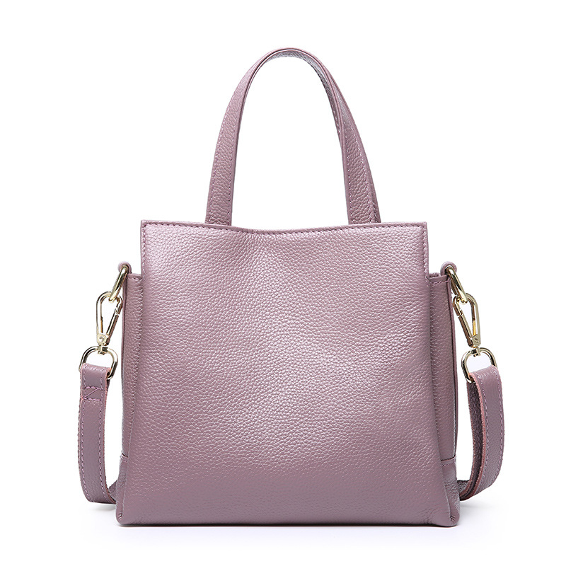 цены Women Genuine Leather Handbags Female Soft Shoulder Bags Ladies Tote Bag Bolsas Femininas Sac New Fashion Cross body Bags