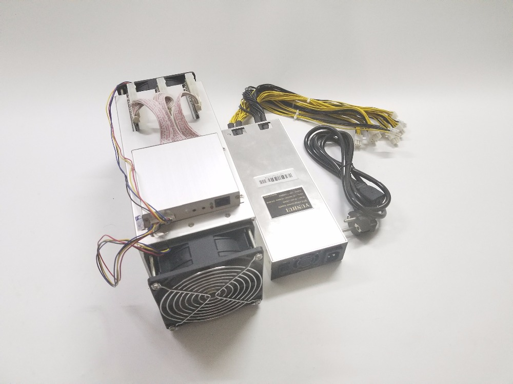 Used 14nm Asic Miner BCH BTC Miner Ebit E9 Plus 9T (with psu) better than  Antminer S7 and low price