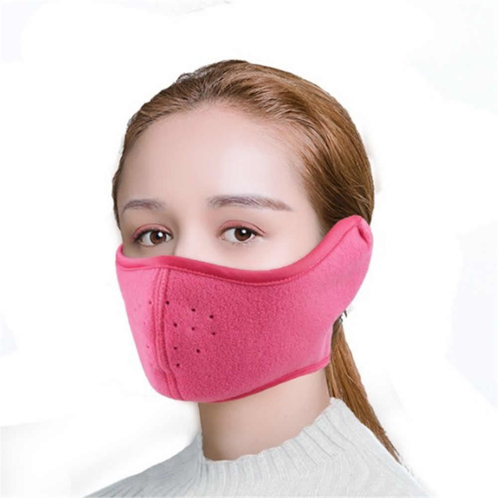 Winter Earmuffs Cycling Windproof Breathable 2 In 1 Face Mask Earmuffs 2018 New Winter Fashion Useful Man Women Ear Earmuffs