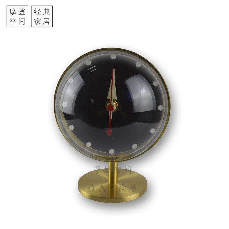 2018New arrivée moderne créateur de mode horloge bureau horloge-silence/horloge de table en gros horloge usine vente directe/livraison gratuite