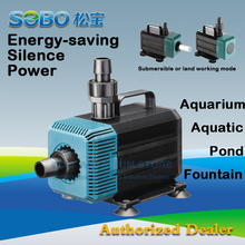 SOBO Submersible Water Pump Fish Pond Aquarium Tank Waterfall Fountain Sump WP-5200 Wp-7200 Authorized Dea