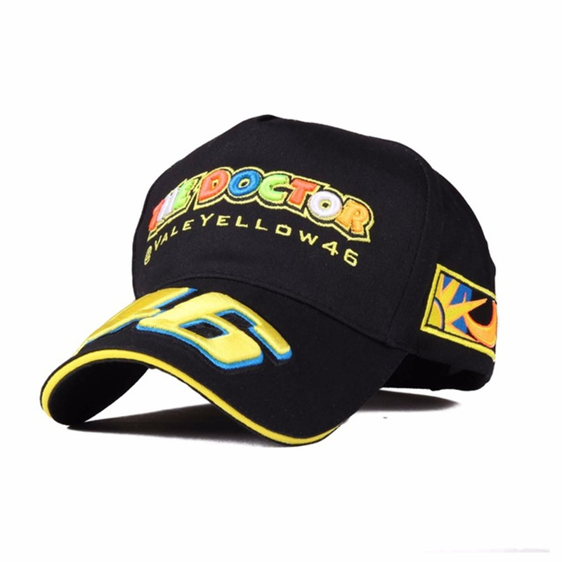 VORON 2017 New Baseball Cap Design Racing Cap hat Car Motocycle Racing VR 46 Rossi Embroidery Sport Caps Hiphop hats Cotton newly design i came to break hearts embroidery letter boy hiphop hat adjustable baseball cap 160513