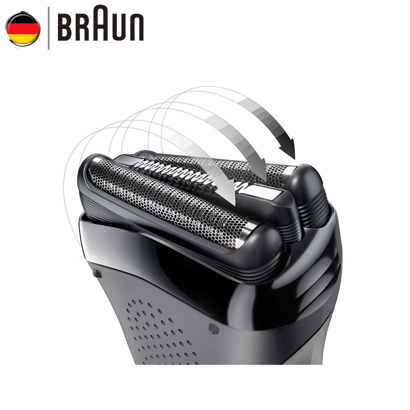 Braun Electric Razor Blade 21B for Series 3 Electric Shaver Shaving Hair (300s 301s 310s 3000s 3020s 3050cc 3080s Cruzer6) 628 foil cutter for braun 3000 3731 3732 3733 3734 3770 3773 3305 3310 3315 3610 3612 3614 3615 5635 shaver razor mesh net