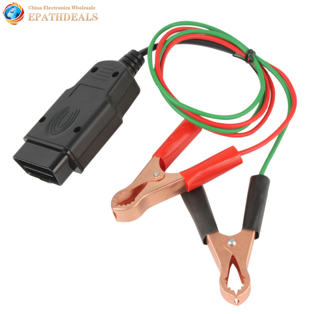 OBD2 Auto Diagnose Kabel & Anschlüsse Memory Saver 12 V ECU Notfall Power Interface Auto Fahrzeug OBDII OBD 2 Diagnose werkzeug
