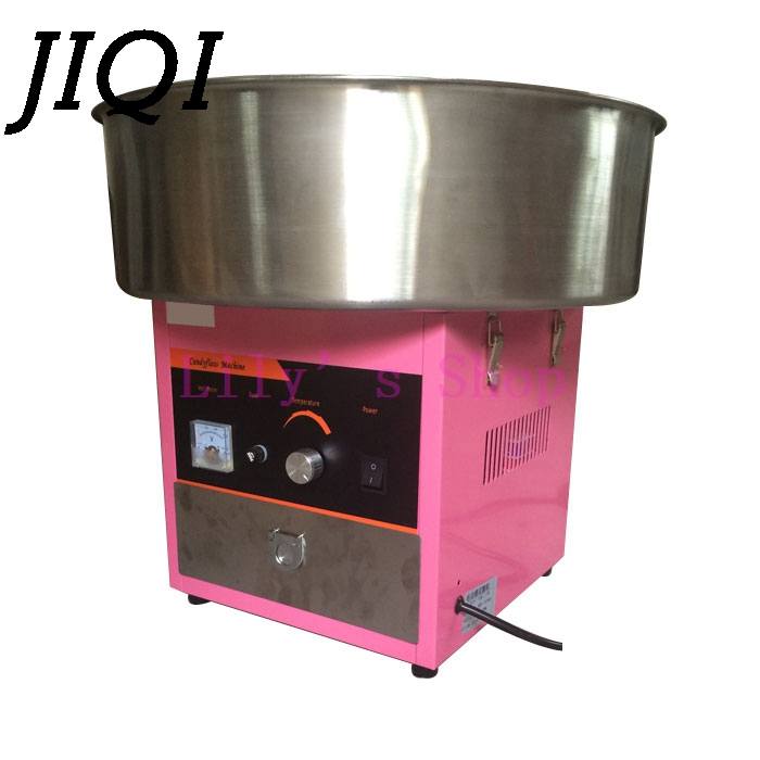 Коммерческих рабочего cotton candy чайник электрический энергосберегающие Автоматическое фантазии candyfloss сахара машина цветок 110 220 В США ЕС разъ