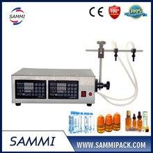 double head 3-3000ml small juice filling machine