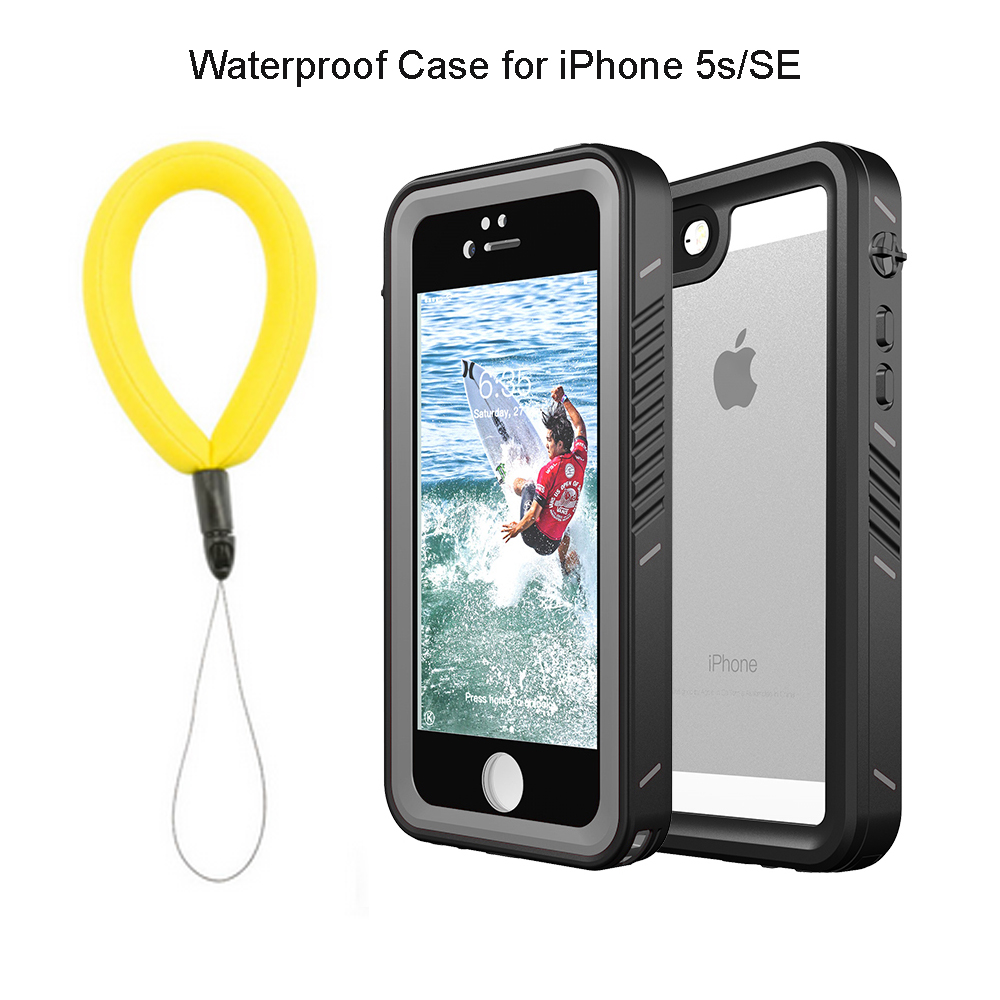 Waterproof Cases for iPhone 5s se 6 6S 7 8 Plus X Outdoor Diving Swimming Shockproof Protective Case Cover for iPhone X Coque