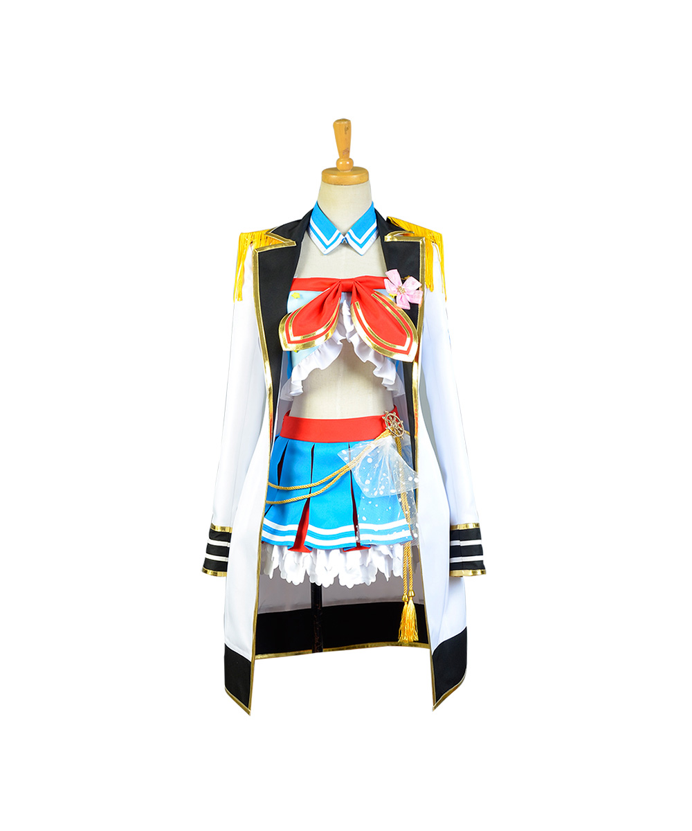 LoveLive Sailor Costume Love Live Kosaka Honoka Navy Uniform Girls Marine Anime Halloween Costumes For Women Full Sets