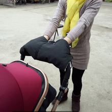 Hot Selling Kids Baby Pram Stroller Waterproof Coldproof Hand Gloves Windproof Warmer Winter Anti-Freeze Thick Pushchair Muff