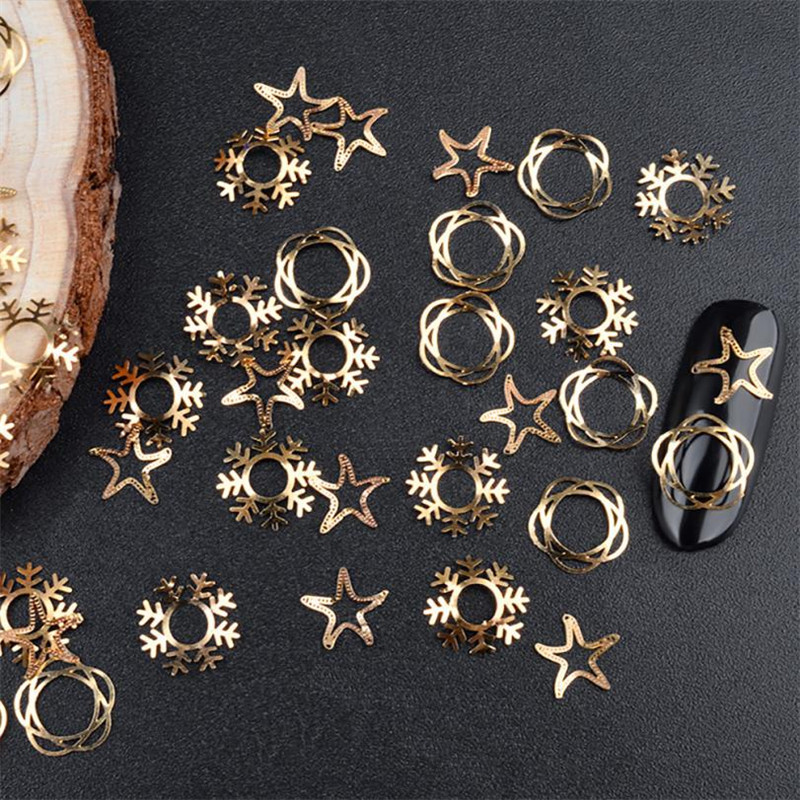 Nail Art Templates 1 Box Metal Gear Stud Sheet Mixed Steampunk Nail Art X90925down Td128 Attractive Fashion