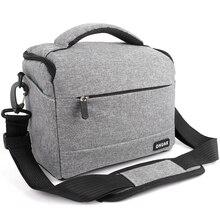 DSLR сумка для камеры модная полиэфирная сумка для камеры чехол для Canon Nikon sony сумка для объектива сумка водостойкая фотография Фото Сумка