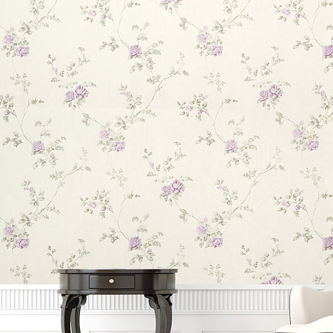 romantic flower wallpaper textured non woven pastoral rose floral