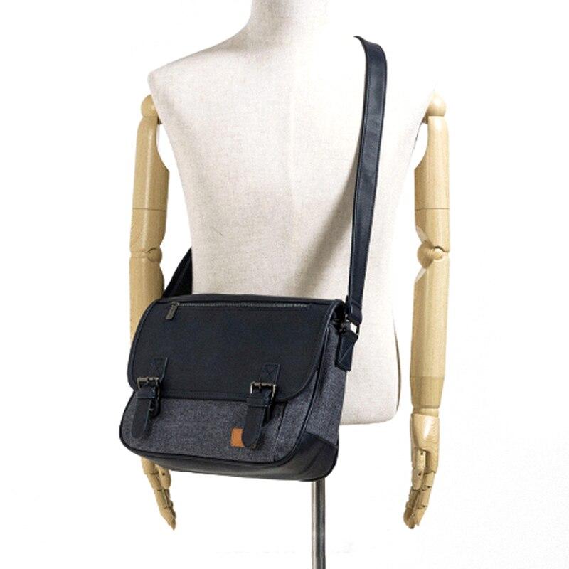 Модный бренд Для Мужчин's сумка Многофункциональный Для мужчин Повседневное сумка качества мужского плеча Курьерские сумки Водонепроницае...