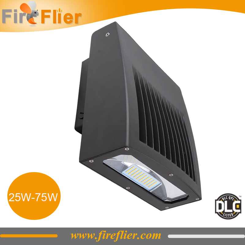 2pcs/lot LED 75W Wall Pack Outdoor Lighting 100W Metal Halide Wallpack Lamp 30w replacement 40w general area lighting 50w IP65