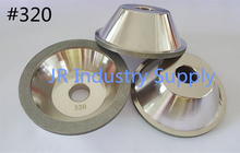 #320 Cup-Shaped Diamond grinding wheel 100D*10W*5U*20H*35T 1pcs