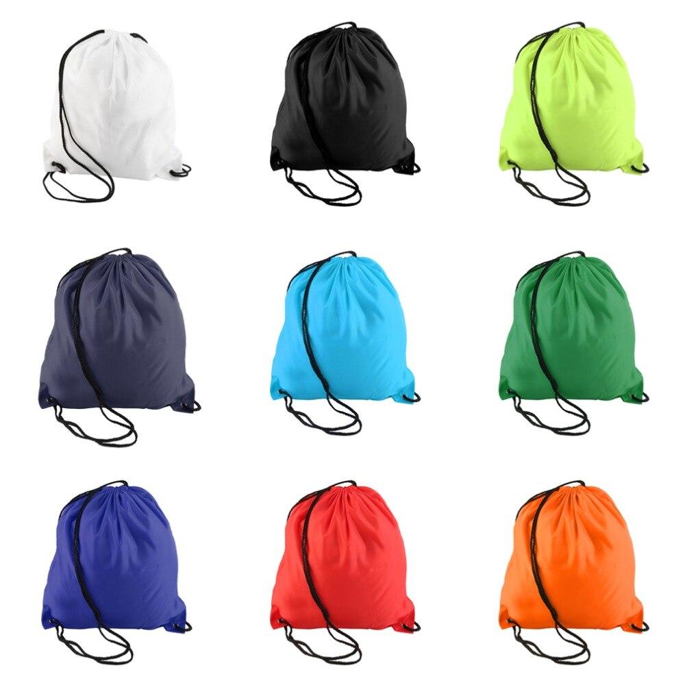 Nuevos Hombres de Las Mujeres Premium Cordón Duffle Bag Sport Gym Swim School Da