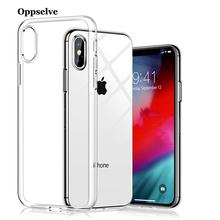 Luxury Case For iPhone X XS XR 8 7 6 S Plus Capinhas Ultra Thin Slim Soft TPU Silicone Cover Coque Capa With Free Tempered Glass цена