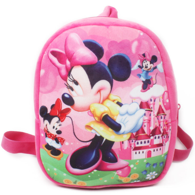 School-Bag Baby Mickey Kids Children Cartoon New Backpack for Cute Plush Boys