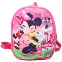 2019 New Cartoon Baby Mickey School Bag for Children Kids Cute Plush Backpack Boys Schoolbag