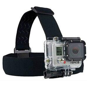 Image 1 - Head strap mount Per Gopro Hero 7 6 5 4 3 Xiaomi yi 4 K Macchina Fotografica di Azione Per Eken H9 SJCAM per Go Pro Accessori