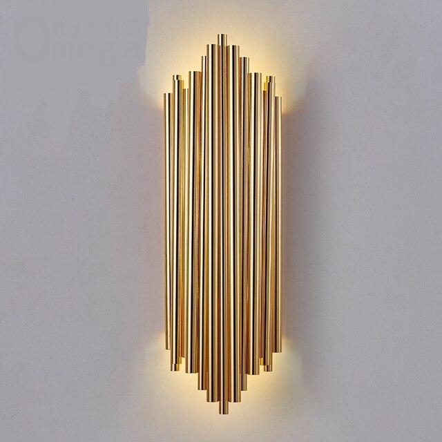 Moderne kantoor wandlamp creatieve villa display wanddecoratie ...