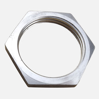 Stainless Steel 304 1 INCH NPT Locknut For Heating Element